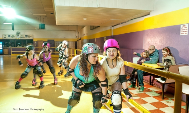The Shoreline Roller Derby by Seth Jacobson