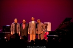 Marcus Roberts, Béla Fleck, Jason Marsalis, and Rodney Jordan perform at the historic Garde Arts Center in New London CT
