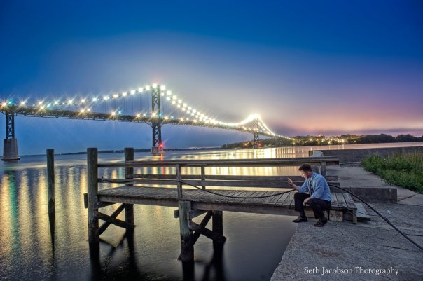 The Mount Hope Bridge by Seth Jacobson Photography