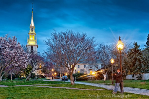 Trinity Church Newport RI by Seth Jacobson Photography