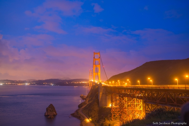 The Golden Gate Bridge by Seth Jacobson Photography