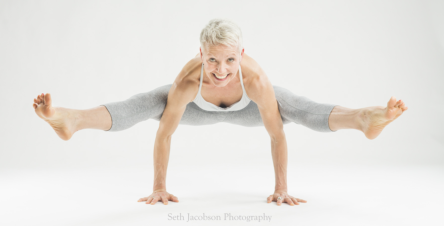 Beautiful Yoga portrait by Seth Jacobson Photography